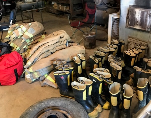 Following historic, deadly flash flooding on April 29, 2017, the Antonia Fire Protection District, in Jefferson County, donated 16 sets of firefighting gear to the DFS Donated Equipment Program. DFS coordinated transfer of the gear to the Thomasville Fire Department, in Oregon County, which lost most of its firefighting equipment and gear during the flooding.