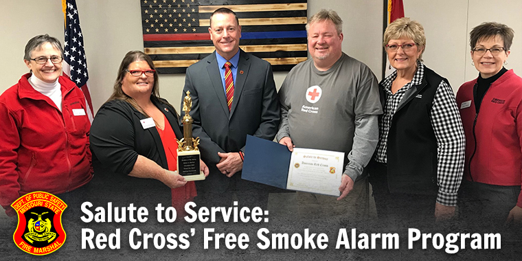 Salute to Service - Red Cross' Free Smoke Alarm Program
