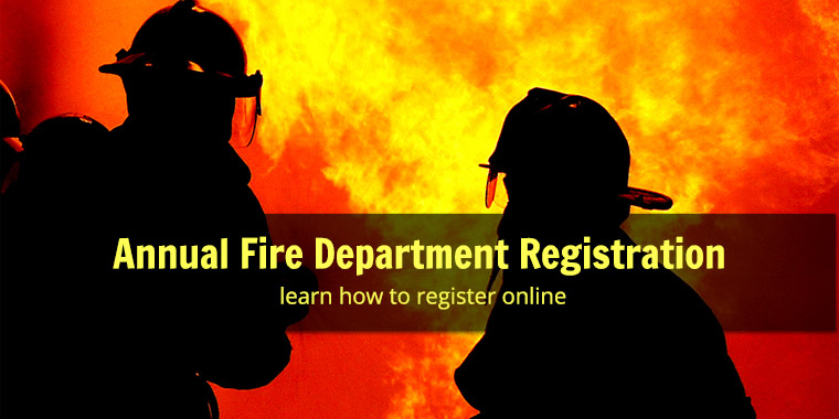 Annual Fire Department Registration