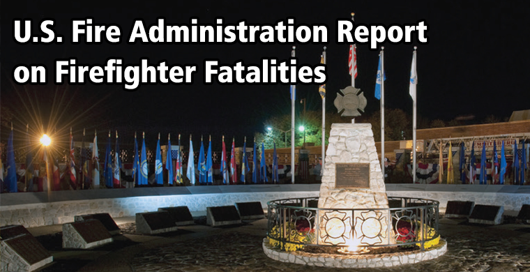 U.S. Fire Administration Report on Firefighter Fatalities