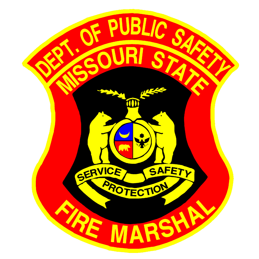 Department of Public Safety Missouri State Fire Marshal seal